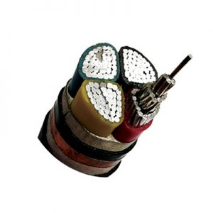 LOW VOLTAGE FOUR CORE INSULATED POWER CABLE