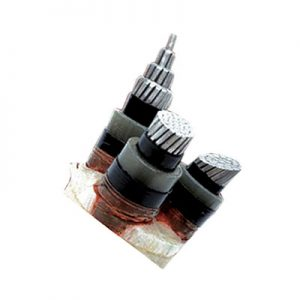 MEDIUM VOLTAGE THREE CORE XLPE INSULATED POWER CABLE